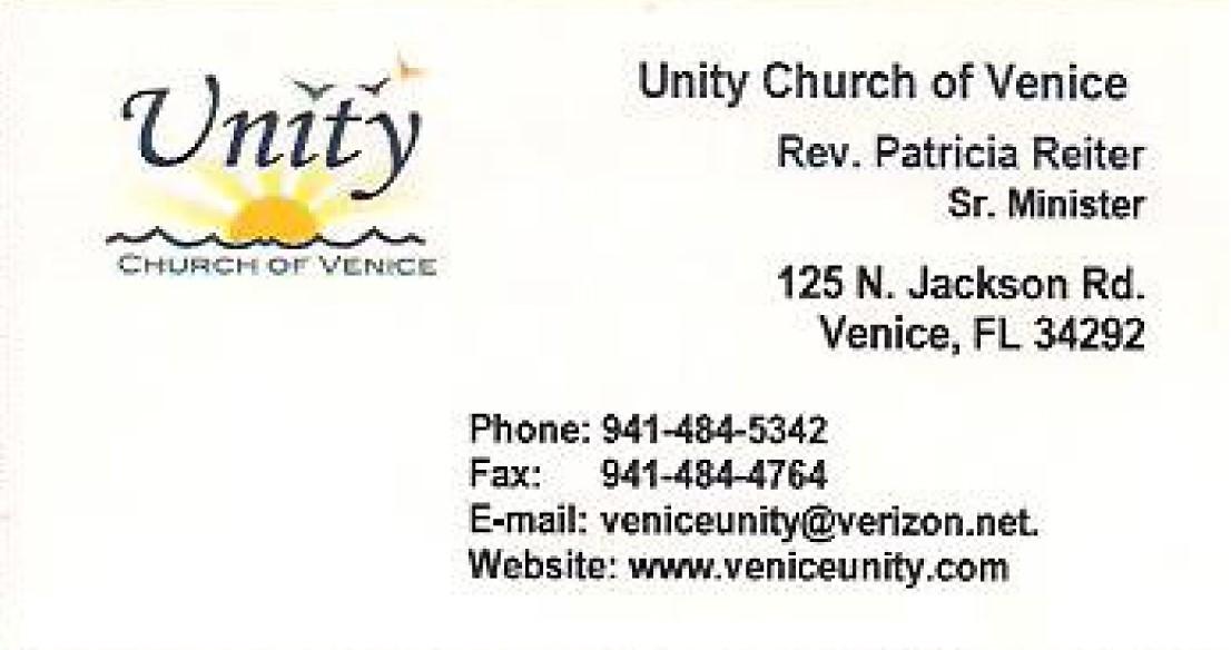 Unity Church of Venice
